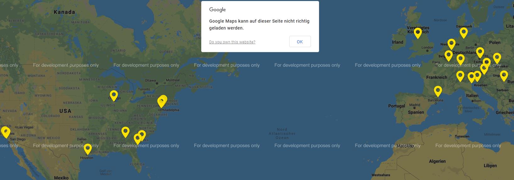 Google Maps - Internetagentur Powerflash on
