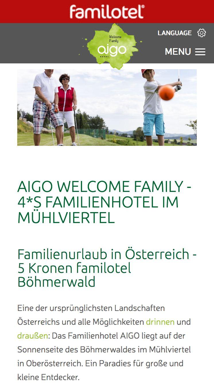 Familienhotel AIGO ****s