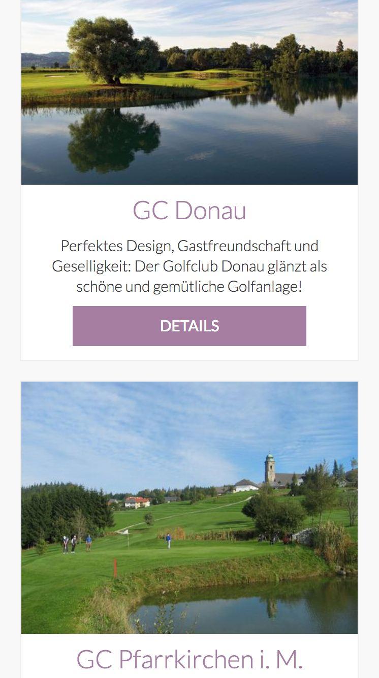 Golfregion Donau Böhmerwald