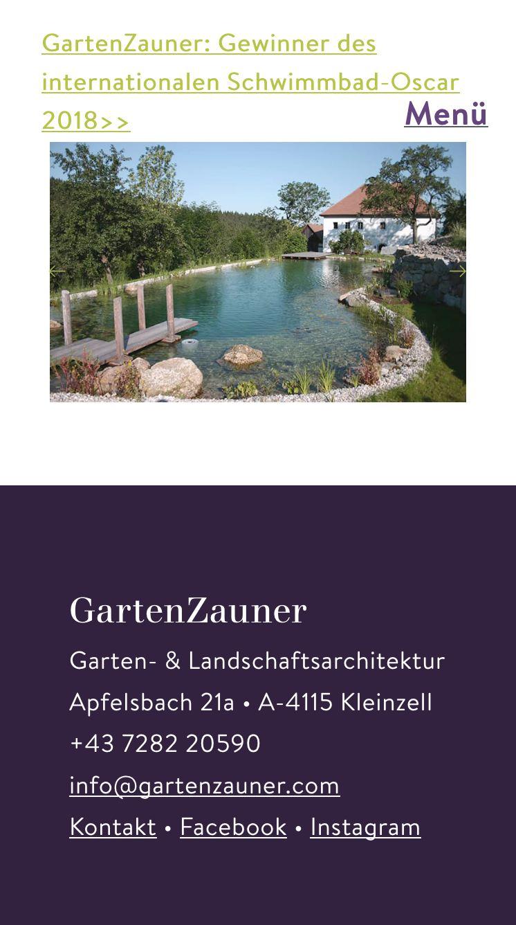Gartenzauner