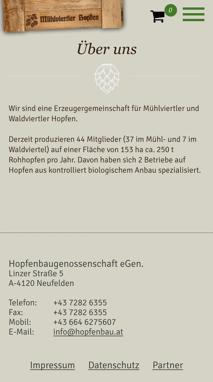 Hopfenbau