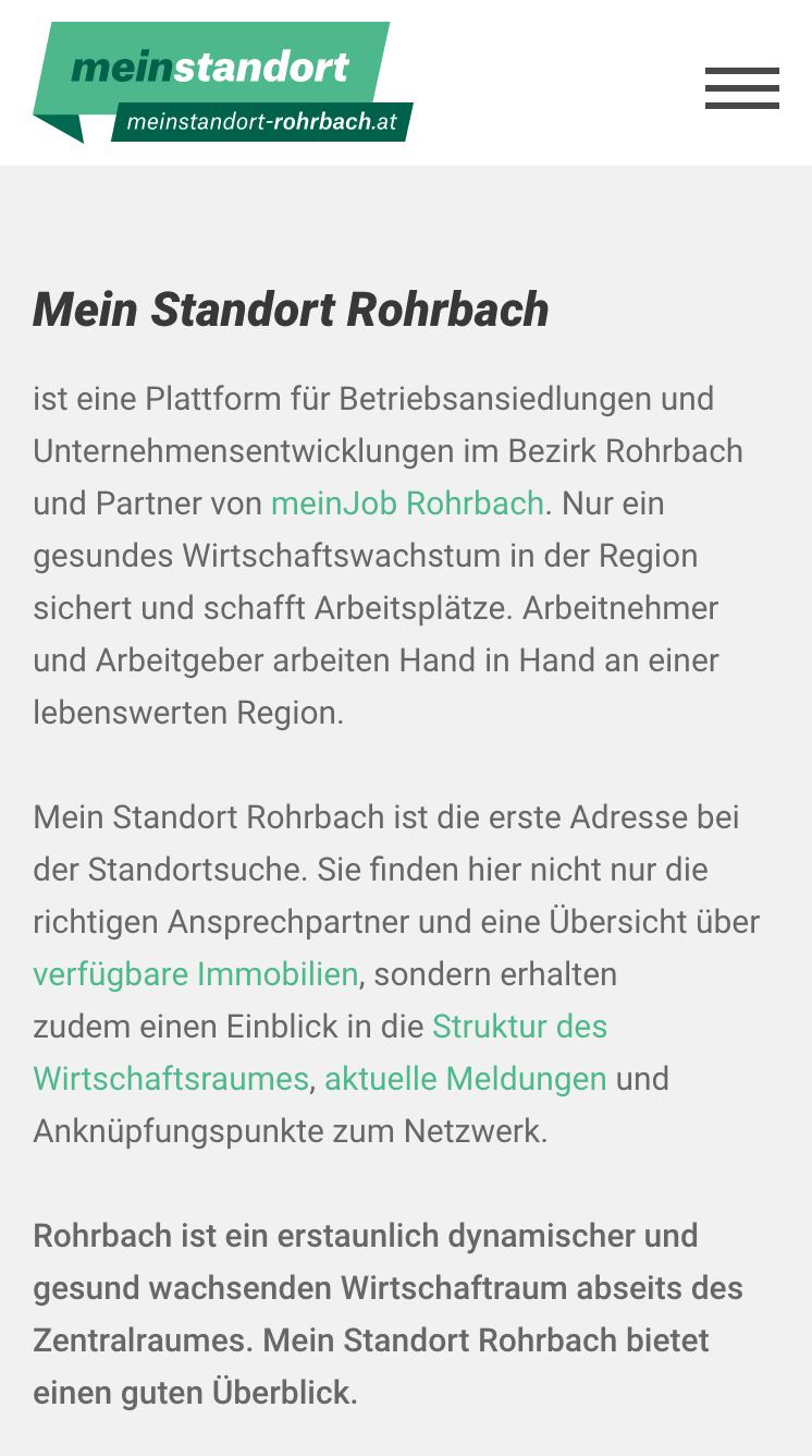 Mein Standort Rohrbach