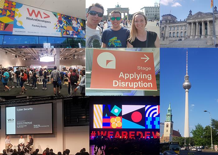 WeAreDevelopers Konferenz Berlin
