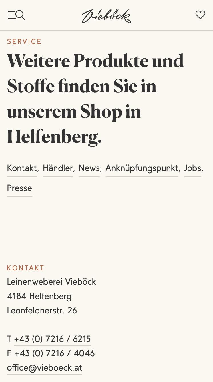 Leinenweberei Vieböck GmbH