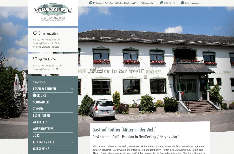 """Gasthaus """"Mitten in der Welt"""""""