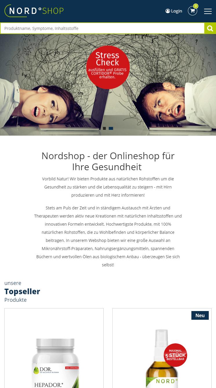 Nordshop Webshop