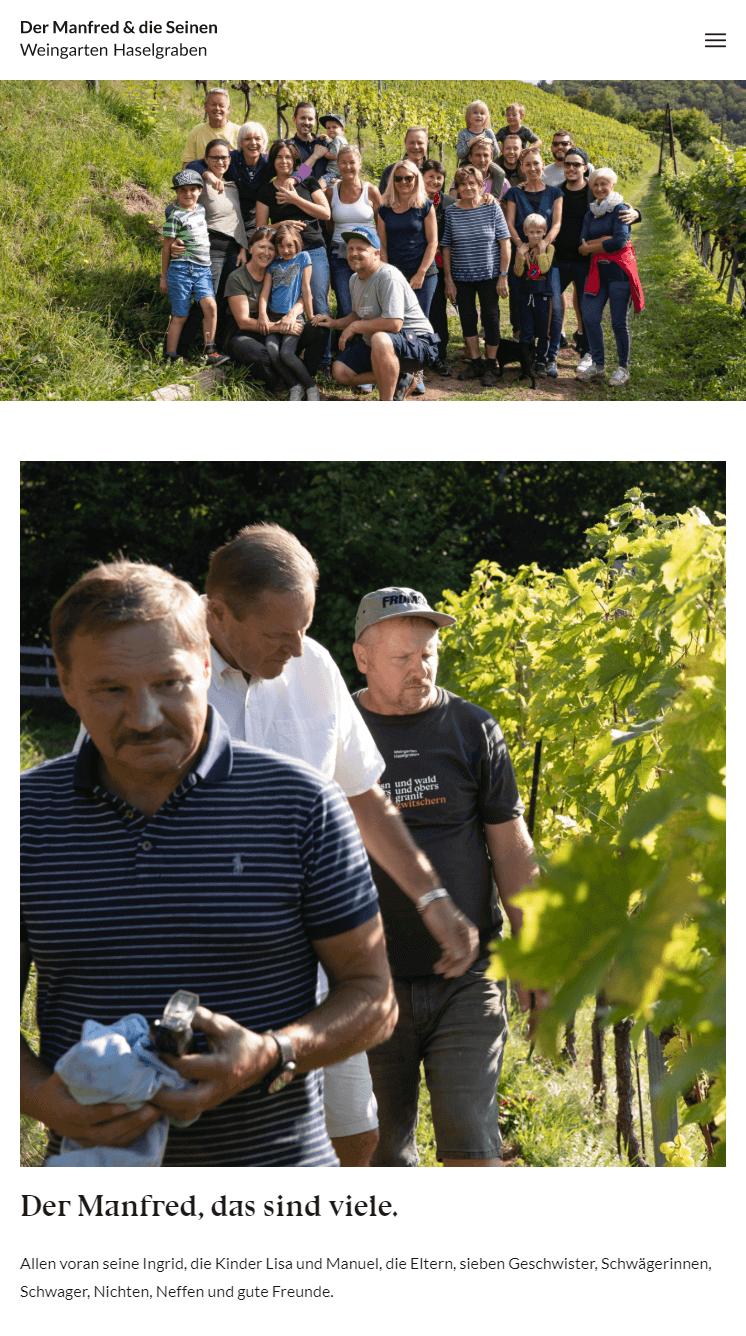 Weingarten Haselgraben