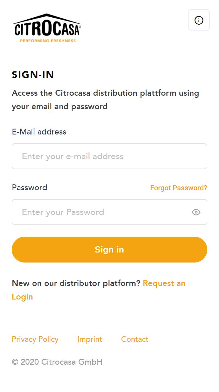 Team-Plattform für Citrocasa GmbH