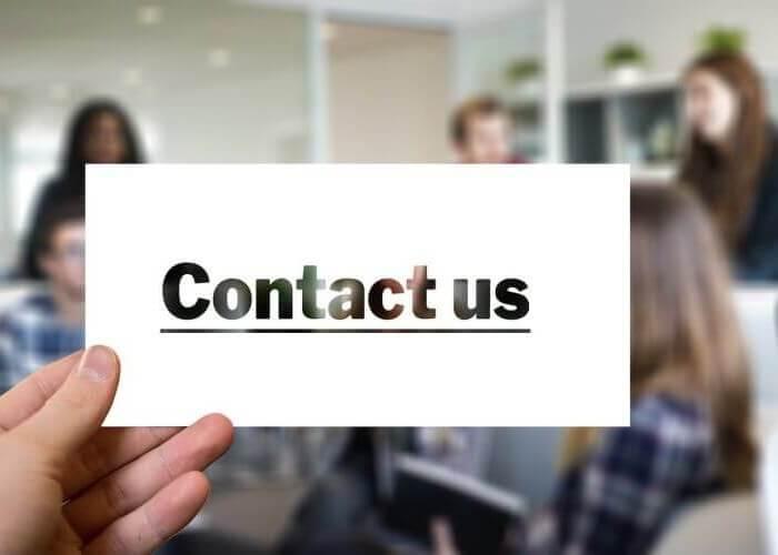 Eine sichere Zustellung der Kontaktanfragen